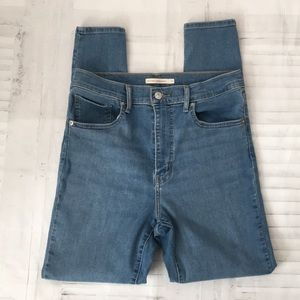 Levi's mile high supper skinny jeans sz 31